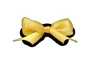 satynowa żółta