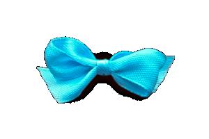 satynowa  błękitna